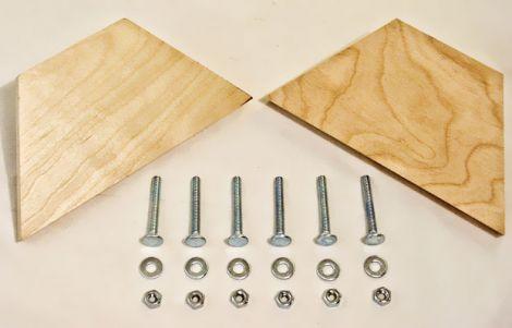 Lee Hardwood Base Blanks - płyta drewniana do stolika pod prasy