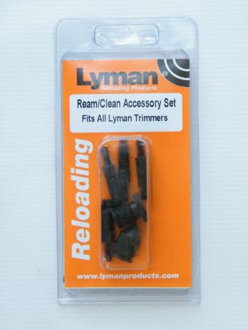 Lyman zestaw do obróbki łusek dla Universal Case Trimmer