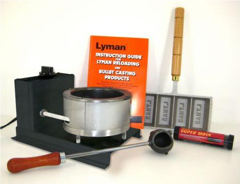 Lyman Big Dipper Starter Kit - zestaw startowy narzędzi do odlewania pocisków