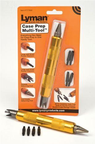 Lyman Case Prep Multi Tool - narzędzie wielofunkcyjne do obróbki łusek