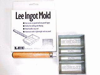 Lee Ingot Mold - forma do odlewania sztabek ołowiu